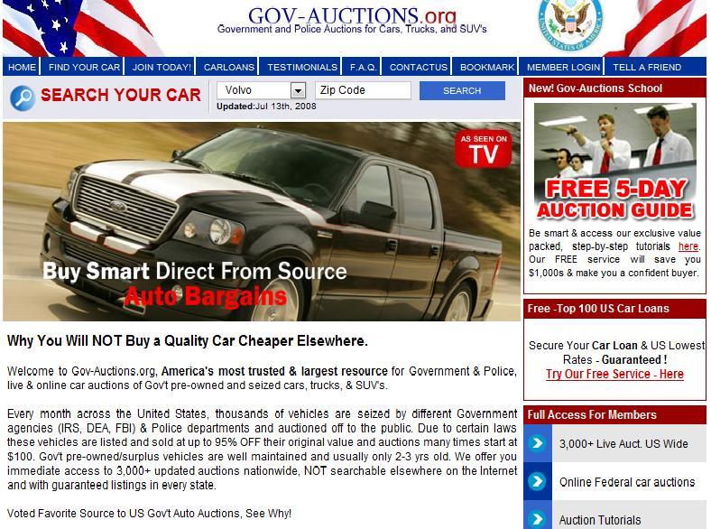 Government Auctions Cars: Monetizing Techniques