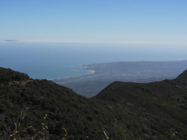 overlooking Santa Barbara
