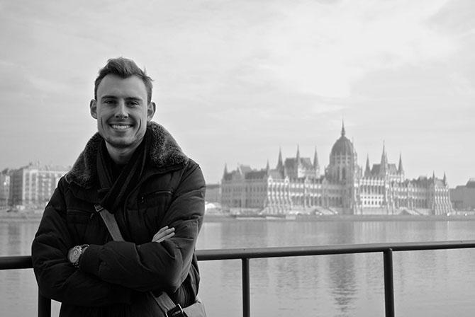 Ryan Zieman in Budapest