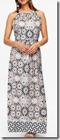 Tile Print Maxi Dress by Wallis