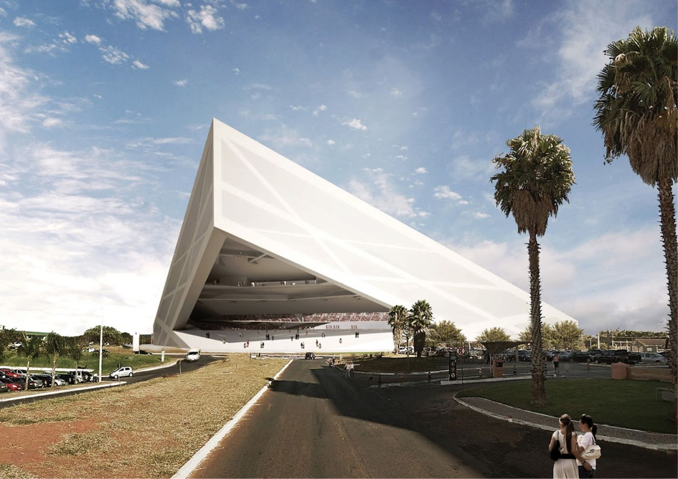 Brasilia Athletics Stadium by Bf architecture