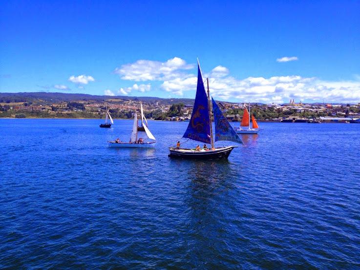 Regata de veleras Chilotas 2015
