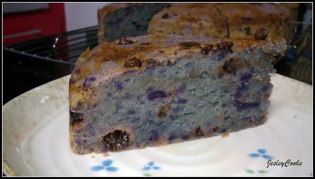 Butter Cake Recipe Japanese: Japanese Purple Sweet Potatoes Butter Cake By JesleyCooks