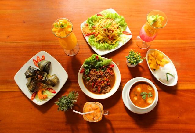 Terpuaskan sama hidangan dari My Thai Resto. Bikin jatuh cinta.