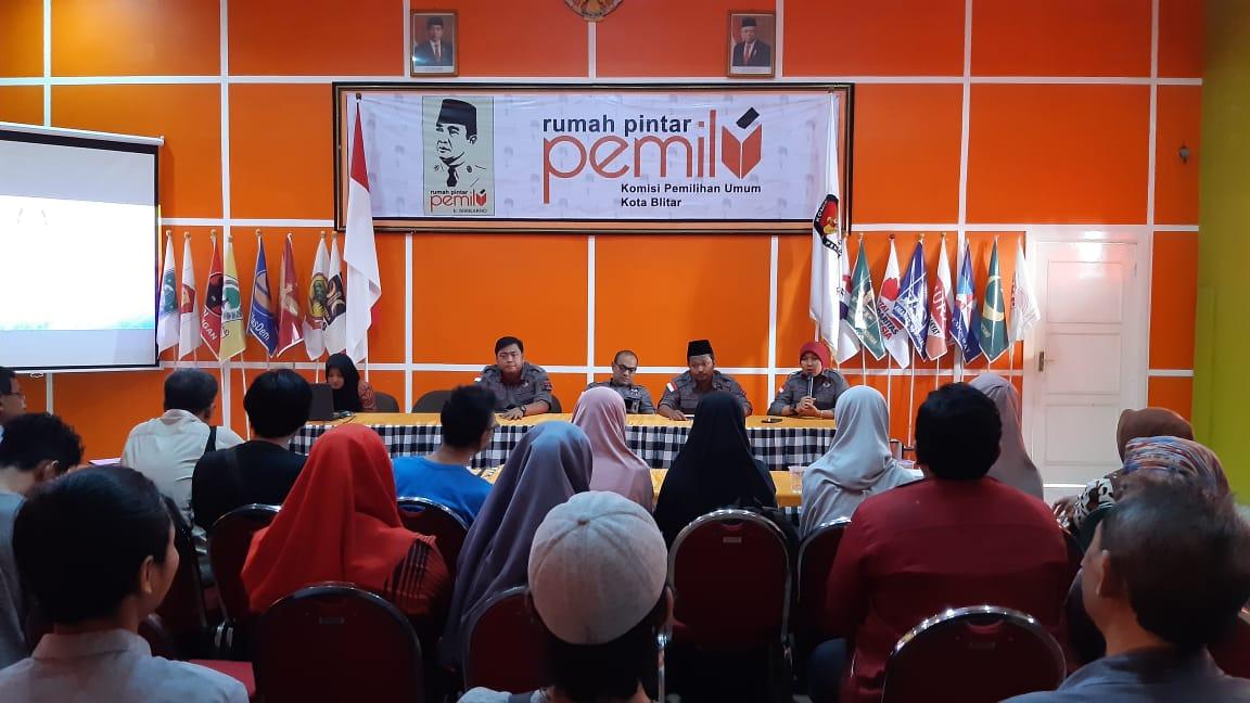 KPU Kota Blitar dan Buku yang Akan Diterbitkan