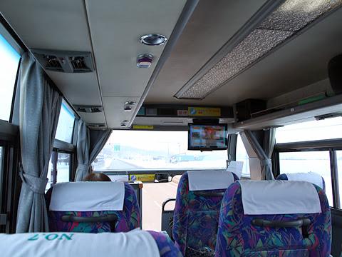 道北バス「特急えさし号」旭川線 ・665 車内 その2