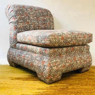 Modern Roll-Back Slipper Chair #2