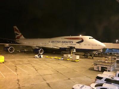 Jumbojet fra British Airways.