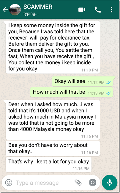 Stephysiology Yeah Baby X True Story How To Spot A Love Parcel Scam