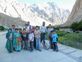 Welcoming Kids of Markhun Village, Gojal