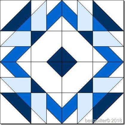 blue white block 16 with8inqubeb