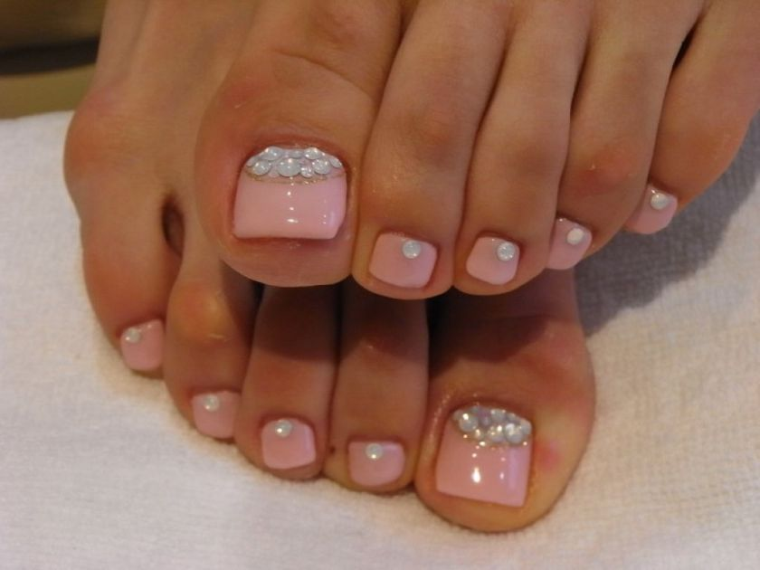 Toe Nail Designs For March