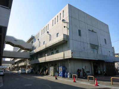 横浜中央卸売市場水産部棟