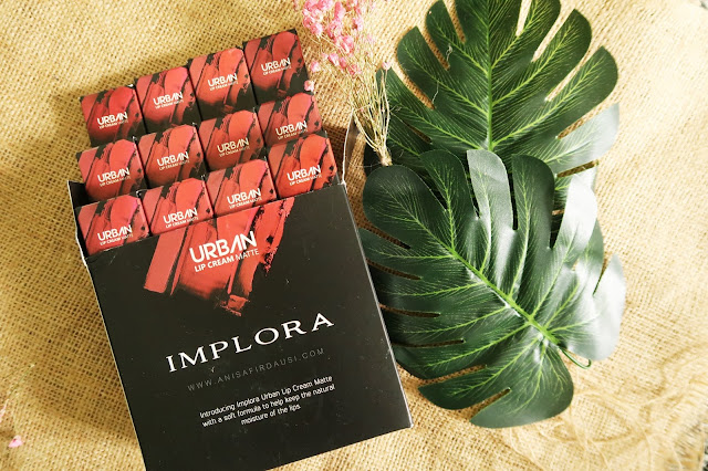 Review Implora Urban Lip Cream Matte Semua Warna