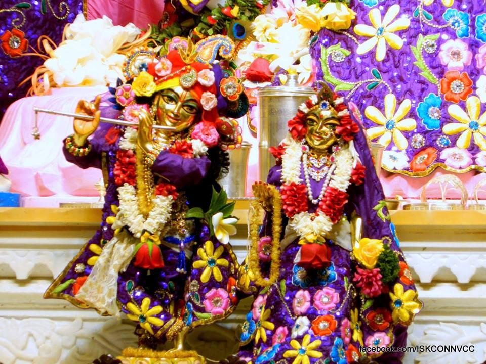 ISKCON Pune NVCC Deity Darshan 19 Dec 2015 (2)