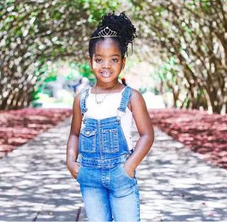 Basket mouth's daughter Janelle Okpocha