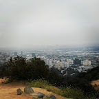 Runyon Canyon on the foggy morning of 4/20/15