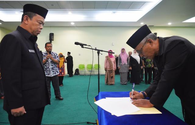 Widodo Indrijantoro Resmi Menjabat Pj Sekda Kota Bekasi