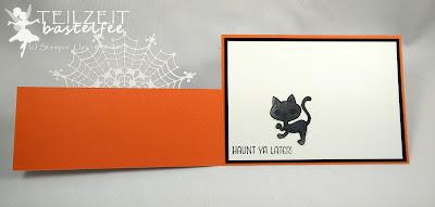 Stampin' Up! - In{k}spire_me #218, Halloween Special, Halloween, Haunt Ya Later, Spinnennetzdeckchen, Spider Net Doilies