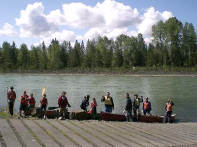 Ready to go on the Cowlitz River