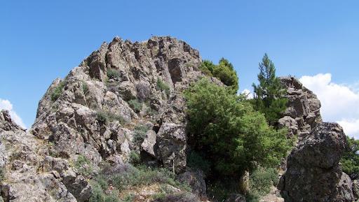 Le sommet Sud de Punta di A Cianfena