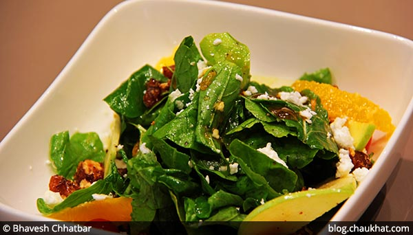 Spiced Arugula and Feta Salad served at 212 All Day Cafe & Bar at Phoenix Marketcity in Pune