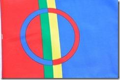 1 drapeau Sami