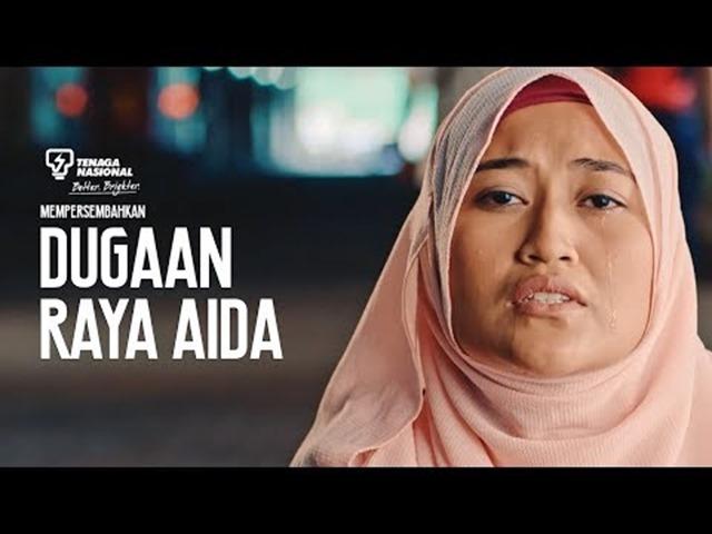 DUGAAN RAYA AIDA–Iklan Raya Viral Dari TNB 2017
