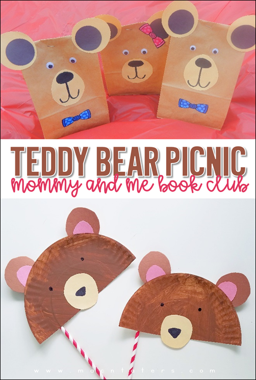 Teddy Bear Picnic: Mommy & Me Book Club This is a perfect way to celebrate National Teddy Bear Day and National Teddy Bear Picnic Day.