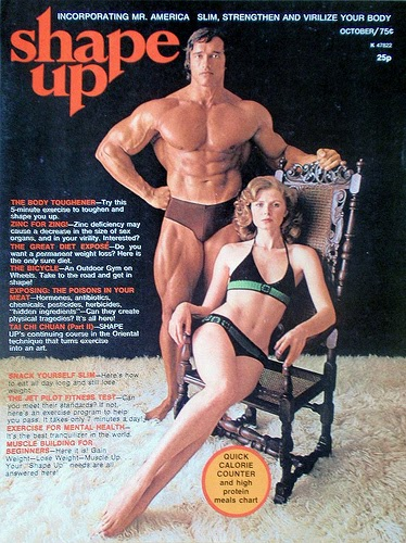 vintage everyday: Old School Muscle and Fitness Magazine