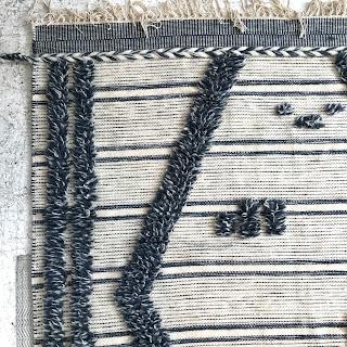 Raj Group Hand-Woven Wool Area Rug #2