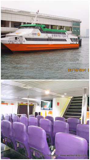 First Ferry Boat to Cheung Chau Island