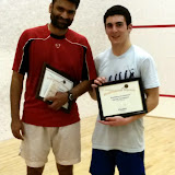5.0 Consolation Finalists, Sarat Gaddipati (Champion) and Evan Jacobson, Brattleboro, March 15th
