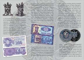"""Expoziția  """"20 de ani ai leului moldovenesc"""""""