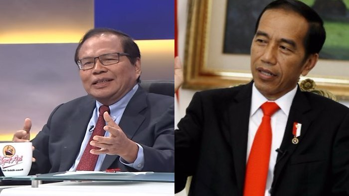 Bantah Jokowi `Boneka`, Rizal Ramli: Bikin Susah Orang & Main Tangkap!