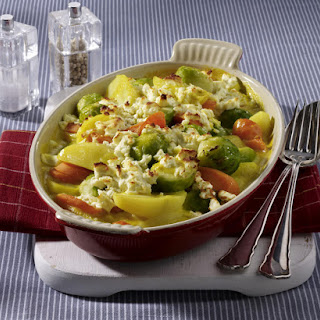 Creamy Baked Vegetables.