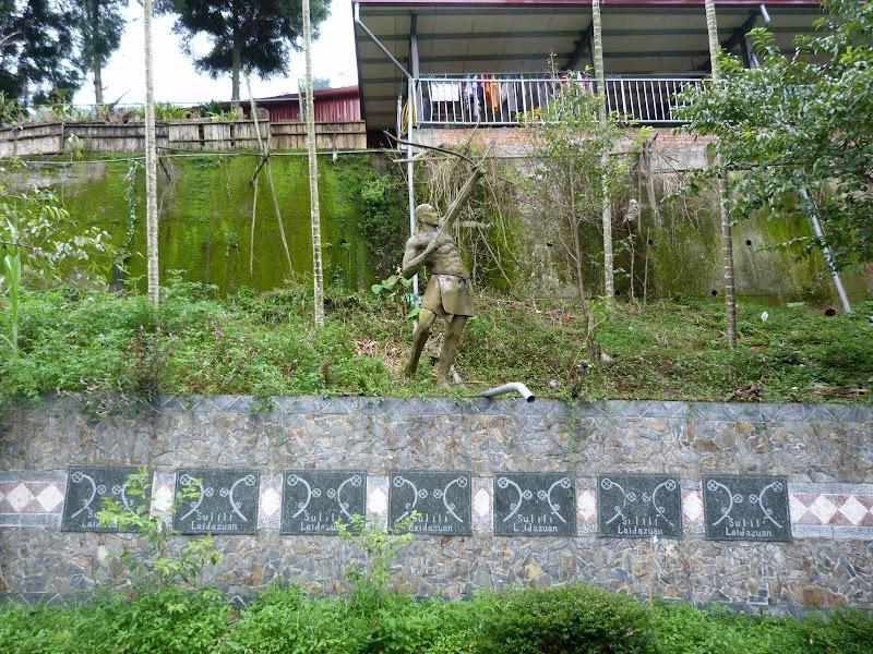 Puli  en passant , entre autres, par les villages de l ethnie Bunum de Loloko et Dili. J 10 - P1170172.JPG