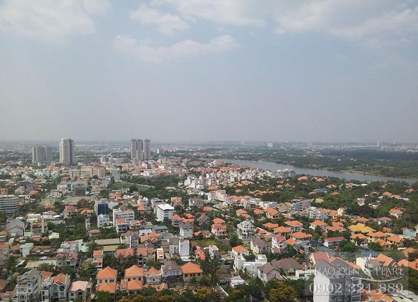 view đẹp thành phố từ căn hộ thảo điền