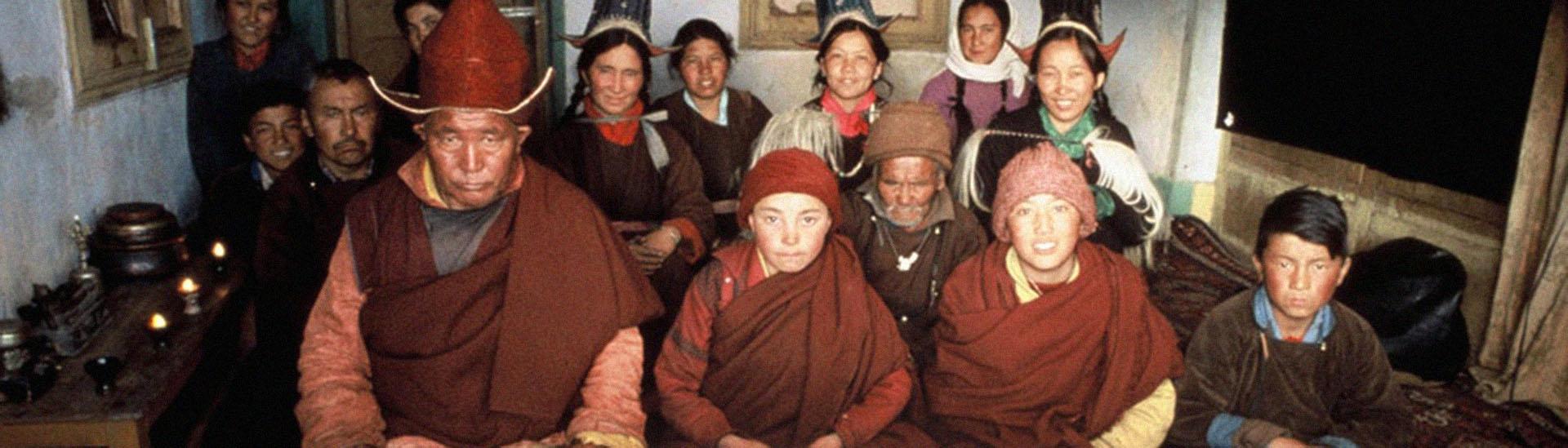 Baner filmu 'Tybetańska Księga Umarłych'