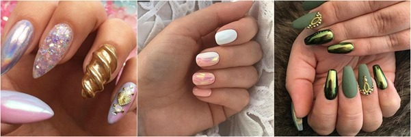 Metallic-Nail-Art - Ideas-Mystylespots-2017