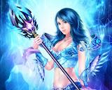 Lady Of Blue Magic