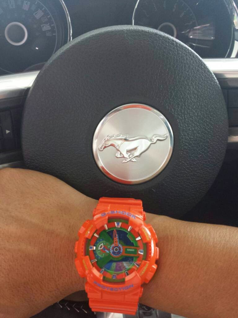 Custom Pinoy Rides Gear for Gearheads Casio G-Shocks Ford Mustang