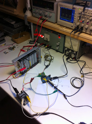 Driving the heater core with PWM, using an Arduino running a PI-loop