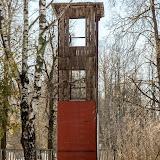 Тренировочная башня на территории пожарной части