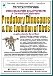 Predatory Dinosaurs 13 February 2016