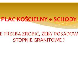 PLAC KOŚCIELNY + SCHODY Foto: farorz