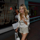 WWW.ENTSIMAGES.COM -   Laura Whitmore leaving AQ/AQ - VIP launch - fashion brand celebrates its rebrand from Aqua by Aqua to AQ/AQ at 12 Fouberts Place, Carnaby Street, London July 23rd 2013                                                       Photo Mobis Photos/OIC 0203 174 1069