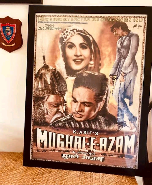 Mughal-e-Azam (The Emperor of the Mughals) (1960) is an Indian epic historical drama film directed by K. Asif in 1960. The film is starred by Prithviraj Kapoor, Madhubala, Durga Khote and Dilip Kumar in the lead roles. The film is about the love story between Mughal Prince Salim (Emperor Jahangir) and Anarkali, a court dancer. But Salim's father Emperor Akbar disapproves their relationship and so a war is started between father and son.