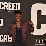 OIC - ENTSIMAGES.COM - Nicola Adams at the  Creed - UK film premiere at the Empire Leicester Sq London 12th January 2016 Photo Mobis Photos/OIC 0203 174 1069