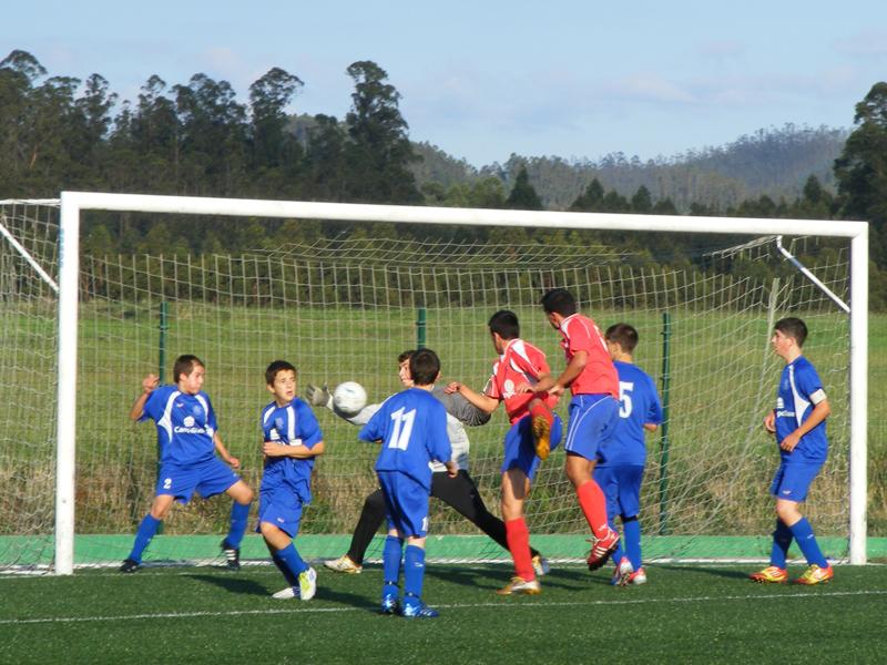 Instante do partido Ortigueira - Numancia temporada 2012-2013 (22/10/12)